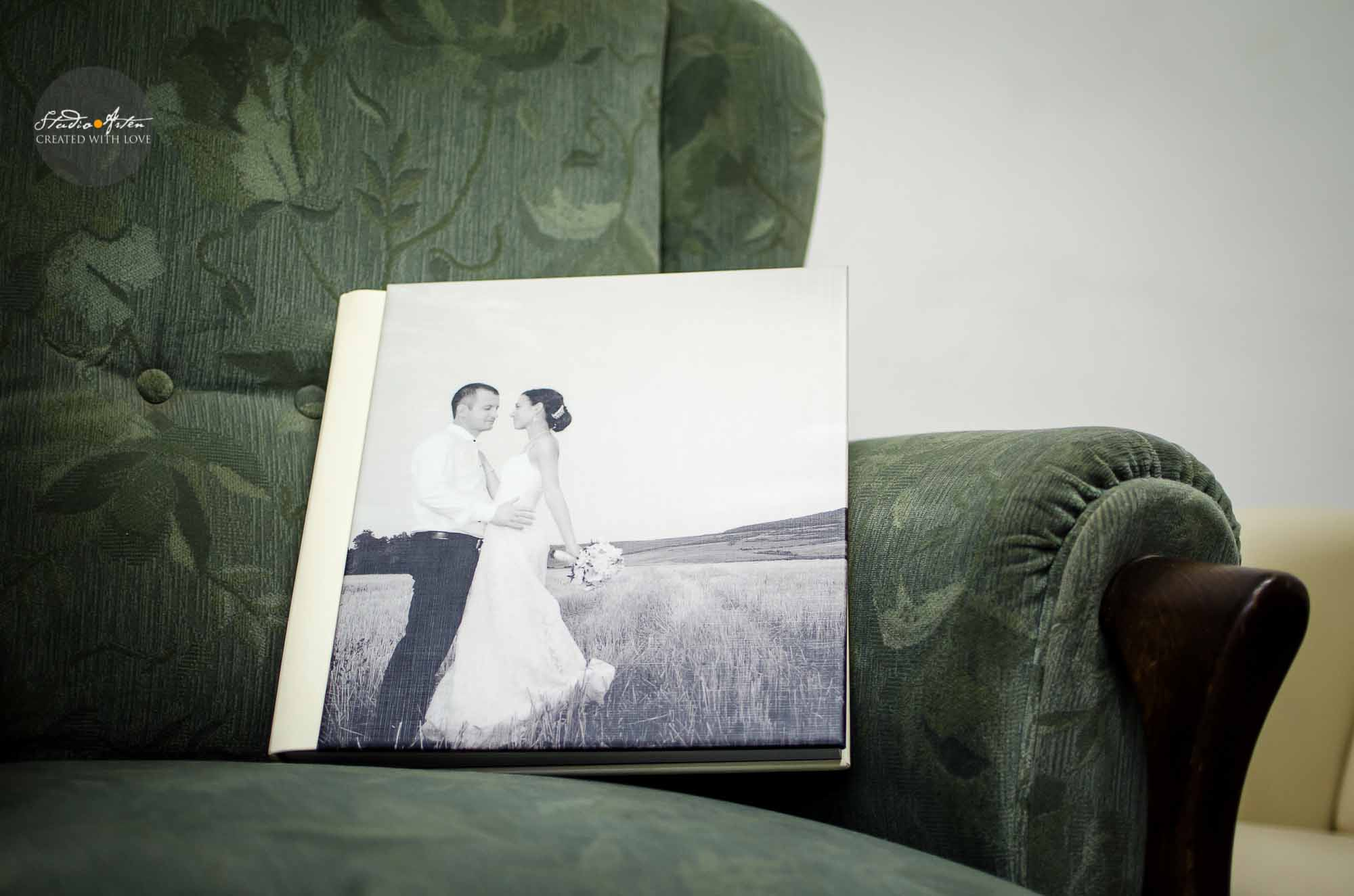 Album nunta - coperta personalizata artistic