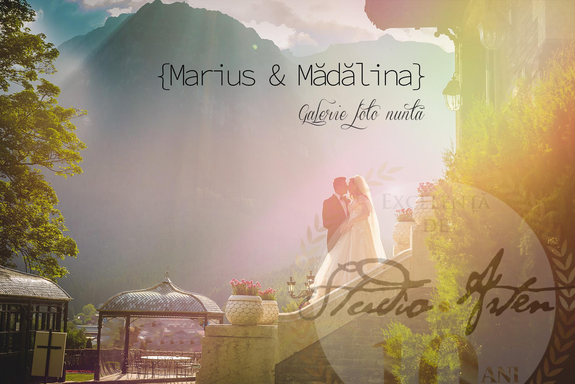 fotografie de nunta, cuplu mire si mireasa, peisaj de munte